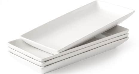 Porcelain Serving Platter Rectangular Plate